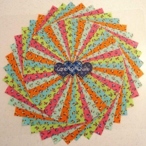 Charm pack  squares 50 per pk Calico multi Colors Quilting Fabric,