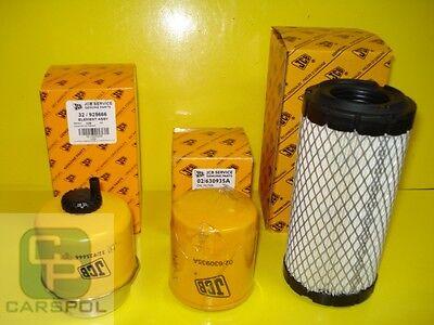 Olio Carburante Perkins 8017 Jcb 8014 8015 8016 8018 Kit Filtri Aria