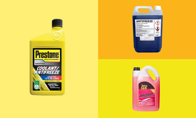 Get Antifreeze from just £4.99