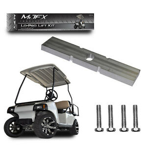 Club Car DS Lo Pro Lift Kit, Golf Cart Leveling Kit for Larger 12-14 Madjax Golf Cart Poster on