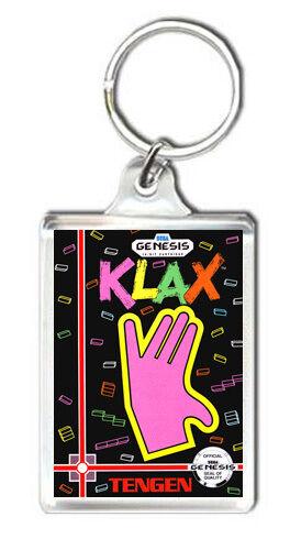 KLAX MEGA DRIVE KEYRING LLAVERO