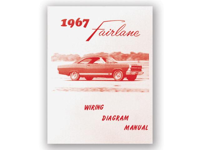 New 1967 Fairlane Wiring Diagram Manual 500 Xl Gt