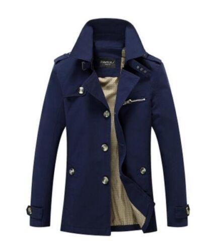 Hot New Men/'s Slim collar jackets Tops Casual coat Windbreaker outerwear jacket