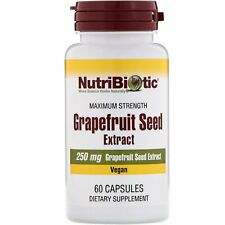 Grapefruit Seed Extract, 250 mg , 60 Capsules - NutriBiotic