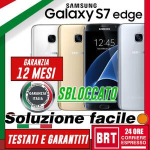SMARTPHONE-SAMSUNG-GALAXY-S7-EDGE-32GB-SM-G935-G935F-G935V-GAR-12MES-ORIGINALE