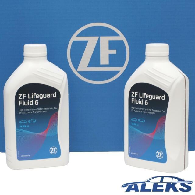 2 Litre ZF Automatique Transmission Lifeguard 6 6HP ATF2 Huile Hydraulique Pour