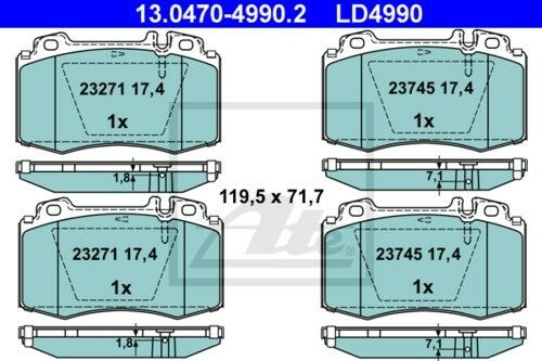 garnitures avant ø312 MERCEDES-BENZ CLASSE E T-Model 3887193 UAT Disques de frein