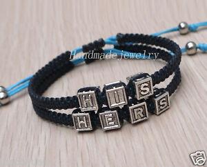Couples Bracelet His Hers Bracelet Boyfriend Girlfriend Jewelry Christmas Gift Ebay