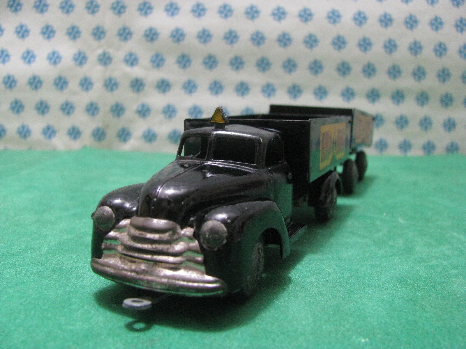 TEKNO DANEMARK 736 DODGE  Kul et et et Koks  camion-remorque -grande condition 84ca4b