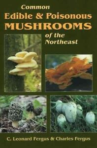 Common-Edible-and-Poisonous-Mushrooms-of-the-Northeast-Paperback-by-Fergus