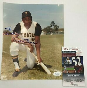 Willie-Stargell-Pirates-DECEASED-Autograph-JSA-Authenticated-Signed-8-x-10-Photo