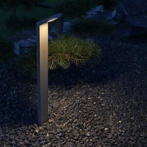 Details Zu Aluminium Led Pollerleuchte Anthrazit Wegbeleuchtung Aussen Stehleuchte Garten