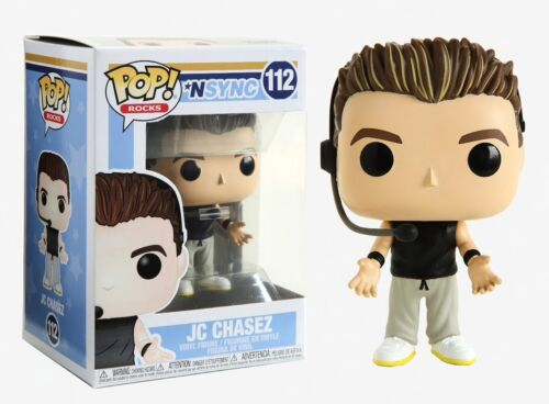 Funko Pop Rocks NSYNC JC Chasez  Vinyl Figure Item #34540