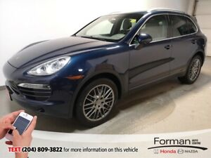 2013 Porsche Cayenne Loaded Htd Leather Pan Sunroof Navi Alloys