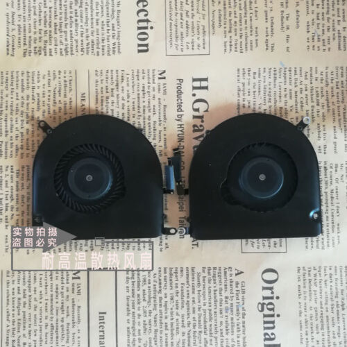"""for Macbook Pro Retina A1398 15/""""CUP cooling fan MC975 MC976 fan left and right"""