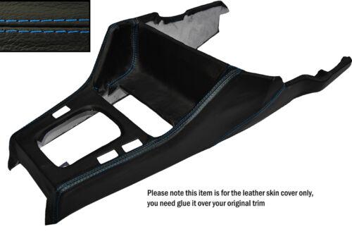 Blue stitch gear surround peau de cuir couvrir fits bmw série 3 84-91 soucis