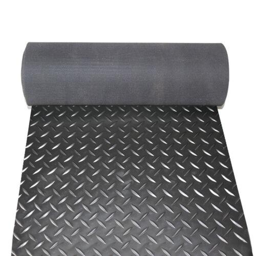 1.5x5m 1.5x6m 1.5x7m Non-slip Diamond Plate Rubber Warehouses Floor Mat Embossed