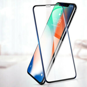 2x-6D-Panzerfolie-Fuer-iPhone-X-XR-XS-MAX-Panzer-Display-Full-Screen-Schutzglas