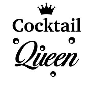 Details about  /Cocktail Queen Vinyl Decal Sticker Ideal DIY Gift