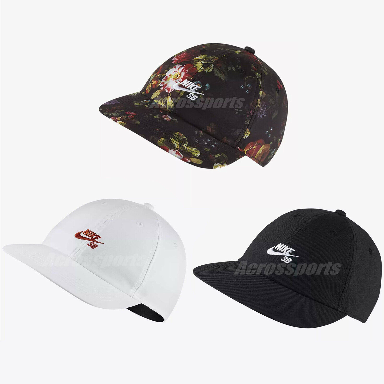 a few days away sale usa online look for Nike SB Heritage 86 H86 Adjustable Cap Hat Skateboarding Flora Unisex Pick 1
