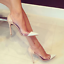 Women-Pointy-Toe-High-Stiletto-Heel-Chic-Wedding-Shoes-Sandals-Pumps-Transparent thumbnail 1