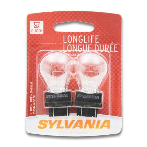 Sylvania Long Life 2 Pack 3057LL Light Bulb Back Up Brake Cornering Turn jh