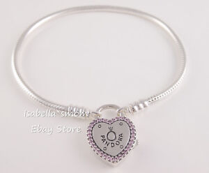 Image Is Loading Lock Your Promise Authentic Pandora Love Logo Bracelet