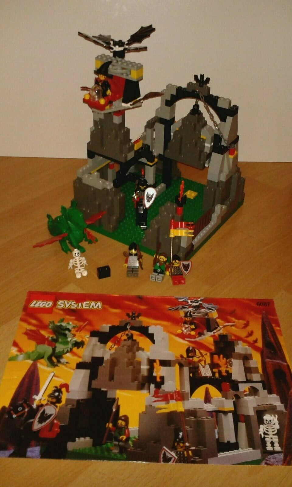 Lego 6087 Witch's Magic Manor Fright Knights