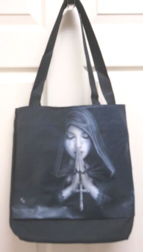 """Anne Stokes Fantasy Art /""""Gothic Prayer/"""" Tote Bag by ACK for Nemesis Now"""