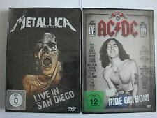Metallica live in San Diego - AC-DC Ride on Bon - Hard Rock Metal Collection