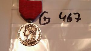 Orden-Frankreich-Medaille-Ministere-du-Travail-silbern-g467