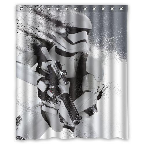 Bathroom Decoration Custom Fighting Stormtrooper Shower Curtain 60x72 Inches