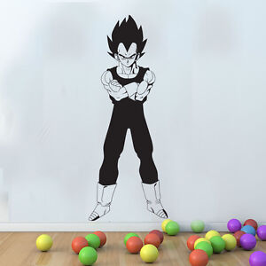 Grand dragon ball z vegeta saiyan s ries autocollant mural art raclette gratuite ebay - Dragon images gratuites ...