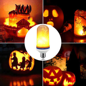 2019 DernièRe Conception 3modes Led Flame Bulb Candelabra Fire Light Bulb 6w Flickering Light Bulbs Nettoyage De La Cavité Buccale.