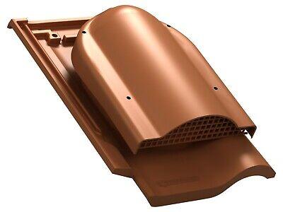 RAL 9005 - Schwarz Solardurchf/ührung f/ür Braas Rubin 13V Dachziegel Solardurchgang Dachdurchgang