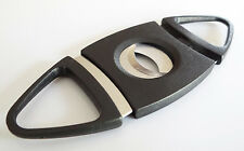 10-Pack Double Blades Guillotine Cigar Cutter Pocket Knife Scissors Stainless