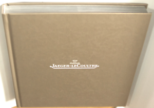 JAEGER-LeCoultrE Book with  Portuguese Text
