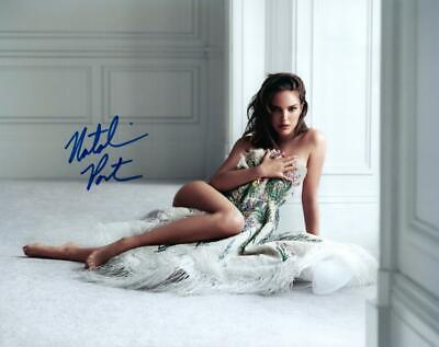 Natalie Portman signed sexy hot nude 8X10 photo picture