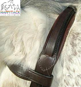 New English Leather Comfort Bridle Converter Headpiece /& Cheeks Pony Cob Full WB