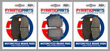 Yamaha XJ600 N 98-03 Full Set Front & Rear Brake Pads (3 Pairs)