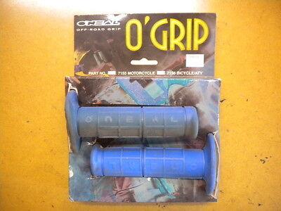 NOS Oneal O/'Neal Ozone Line Blue Handlebar Grips Motocross MX BMX