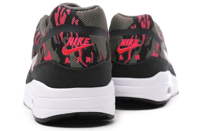 Nike 1 Air Max 1 Nike PRM TAPE Sz 11.5 599514-206 Mens Camo Pack Petra Brown Atomic Red 84d13c