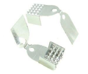 100-Metallkappen-6mm-Endkappen-Endteile-Verbinder-Verschluss-Schmuck-Basteln-M90