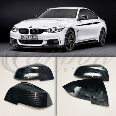 CARBON FIBRE WING MIRROR FULL REPLACEMENT COVERS BMW FOR 4 SERIES F32 F33 F36 M