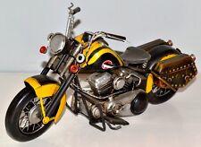 HD Moto Tôle Moto en étain Modèle en tôle Étain Modèle Vintage Bike 34 cm 37263