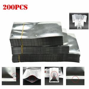 Folha-de-aluminio-100-500PCS-saco-de-mylar-Seladora-Vacuo-Pacote-de-armazenagem-de-alimentos-Bolsa
