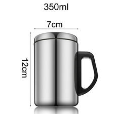 350ml&500ml Thermal Travel Mug Stainless Steel Insulated Coffee Water Tea Cup