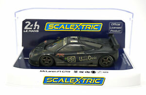 Scalextric-C4103-McLaren-F1-GTR-59-Weathered-24-Hours-Le-Mans-039-95-1-32-Slot-Car