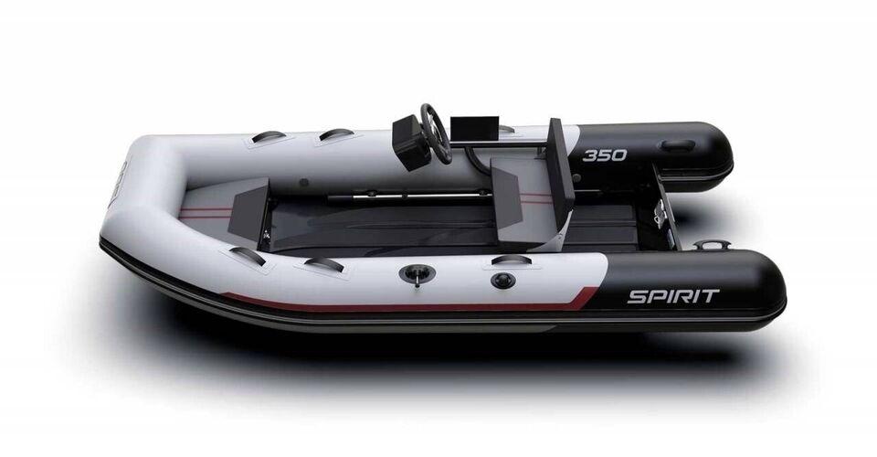 Gummibåd, Aqua Spirit 350C - 20 HK Yamaha/Trailer/Udstyr,