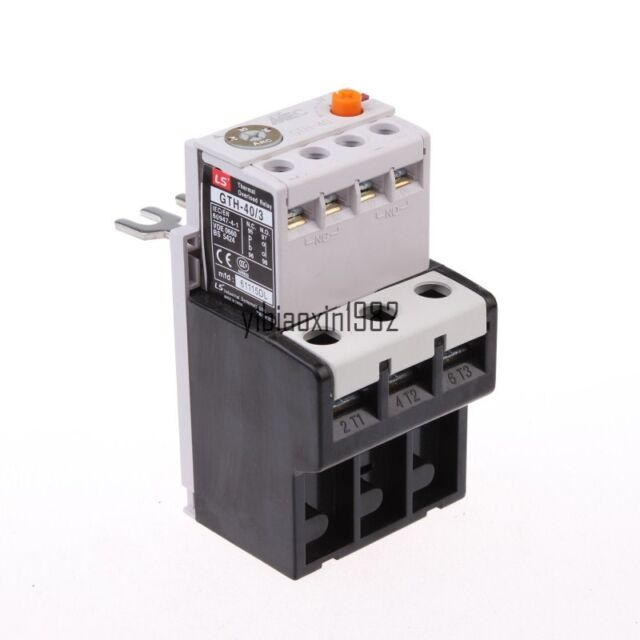 1 pcs Thermal Relay GTH-40 Overload Relay 24-36A